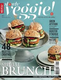 magazine de cuisine slowly veggie un magazine 100 végétarien hide seek