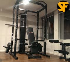 Daves Powertec Power Rack Package Gym
