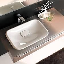 vasque à poser céramique blanc citterio espace aubade