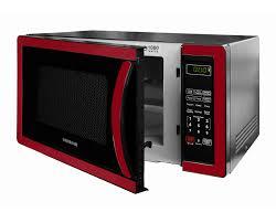 Classic 11 Cubic Foot 1000 Watt Microwave Oven Metallic Red