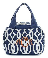 Monogram Vine Lunch Bag