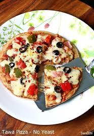 Tawa Pizza Recipe Without Yeast