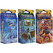 Pokemon Top Decks July 2017 by Amazon Com Pokemon Tcg Sun U0026 Moon Guardians Rising Bundle Of