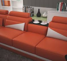 Italsofa Red Leather Sofa by Italsofa Leather Sectional Sofaange Microfiber Sets Burnt