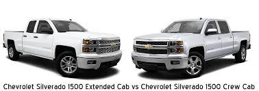silverado extended cab vs silverado crew cab davis chevrolet