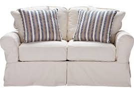 Cindy Crawford Denim Sofa by Shop For A Cindy Crawford Home Beachside White Denim Loveseat At