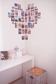 Bedroom Inspiration DIY Heart Collage Tumblr Room Decor Wall Art Ideas Photosgraphs Wedreambedrooms