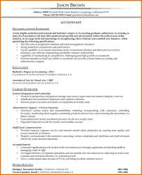 Accounting Resume Format Template Sample Accountant For Construction Company Gulf Jobs Tips