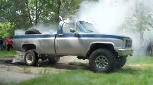 100 Big Jacked Up Trucks Up Mud Truck Burnout YouTube