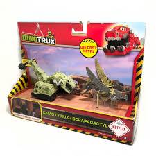 100 Dinosaur Truck Dinotrux Removable Toy Car Mini Models New