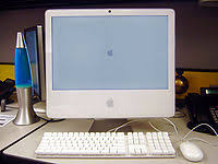 pc bureau apple desktop computer