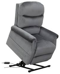 Divano Roma Furniture Classic Plush Power Lift Recliner Living