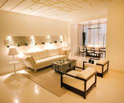 Indian Modern Interior Styled Home Living Room