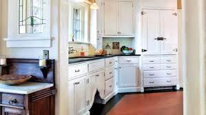 Classic White Kitchen For A 1920s Tudor
