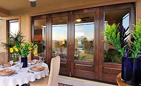 fiberglass french doors with blinds between glass prefab homes