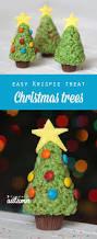Gumdrop Christmas Tree Decorations by Easy Rice Krispie Krispy Treat Christmas Trees To Make With Kids