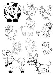 Animals cut outs worksheet Free ESL printable worksheets made by