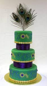Peacock Wedding Cake Around the World in 80 Cakes