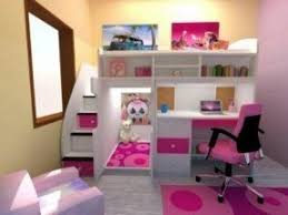 Double Loft Bed With Desk Foter
