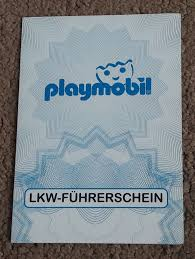 Playmobil Set: 30887732/06.07 - Playmobil Truck Driver's License ...