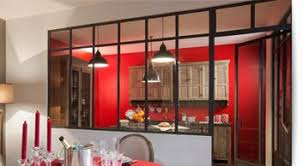 separation cuisine salon vitr separation cuisine salon vitre simple salon avec grande baie vitree