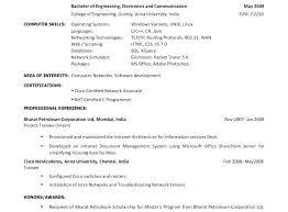 Sample Of Resume For Internship Cs Example Inspirational Mechanical Engineering Finance