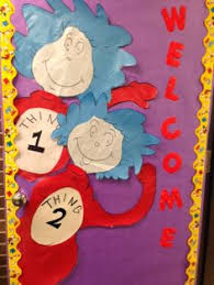 Dr Seuss Door Decorating Ideas by Dr Seuss Door This Would Be Hilarious With A Picture Of The