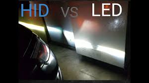 hid vs led light bulb
