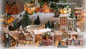 Kohls Artificial Christmas Trees by Priscillas It U0027s Finished The 2014 Christmas Village
