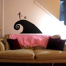 Nightmare Before Christmas Bedroom Design by Nightmare Before Christmas Large Wall Decal