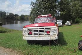 Solid 1978 Ford F700 Fire Truck For Sale