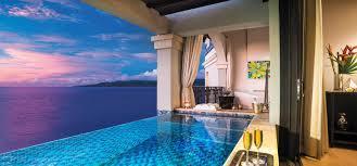 100 Resorts With Infinity Pools Skypool Suites Private Plunge Pool Sandals