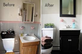 Small Bathroom Remodels Before And After by Small Bathroom Makeovers Before And After Pictures Image