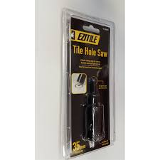 ezitile tile hole saw 35mm bunnings warehouse