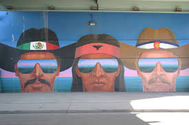 Denver International Airport Murals Artist by Confluent People