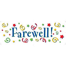 Farewell Clip Art