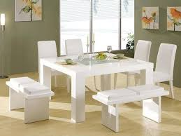 Dining Room Sets White Excellent With Image Of Concept New
