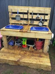 Recycled Pallet Mud Kitchen Plans