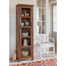 Naturehood Tall Cupboard For Living Room Crockery Unit