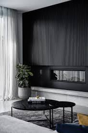 schwarze wand im interieur ja sie soll nicht unbedingt