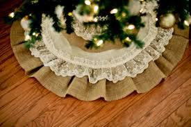 Hobby Lobby Burlap Christmas Tree Skirt by Burlap Christmas Tree Skirt Christmas Decor