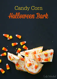 Halloween Candy Dish Craft by Halloween Bark Recipe Candy Corn Filled Crafts Unleashed