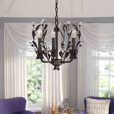 Giovanna 3 Light Candle Style Chandelier