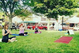 Kenmore Farmers Market Yoga Free Outdoor Fitness Classes In WNY Step Out