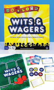 Wits And Wagers Is One Of The More Risky Board Games For Adults