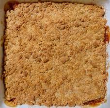 dessert aux pommes sans gluten crumble aux pommes sans gluten l atelier des couleurs