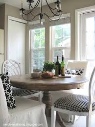 A Small Round Table Is All You Need To Feel At Home In This Humble Dining Room