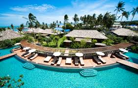 100 W Hotel Koh Samui Thailand Outrigger Signs Resort Management