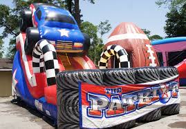 Patriot Monster Truck Water Slide | Sky High Party Rentals