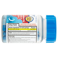 Confirmed Halloween Candy Tampering by Equate Extra Strength Acetaminophen Pm Gelcaps 80 Ct Walmart Com